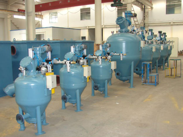 Pneumatic Ash Conveying System